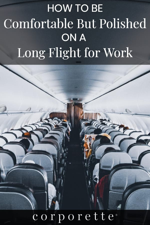 Wondering how to look professional on a long flight for work? Business travel expert Road Warriorette offers some advice for female business travelers and consultants, including how to look polished and still be comfortable!