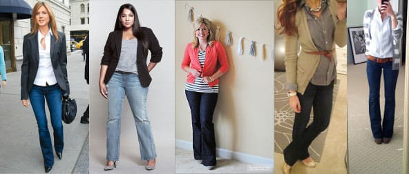 How to Wear Jeans to Work - Corporette.com