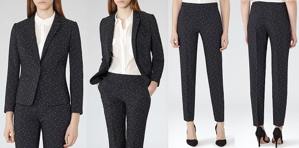 Summer Suit for Women polka dots