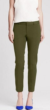 Sloan Fit Ankle Pants