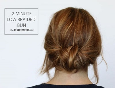 Enjoyable 12 Easy Office Updos Buns Chignons More For Busy For Professionals Short Hairstyles Gunalazisus