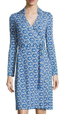 DvF Jeanne Two Printed Wrap Dress