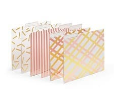 Cute Office Accessories - file folders | Corporette