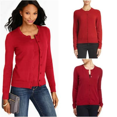 The Hunt: Red Cardigan Sweaters