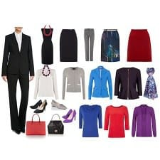 Putting Together Work Outfits Using Suit Separates