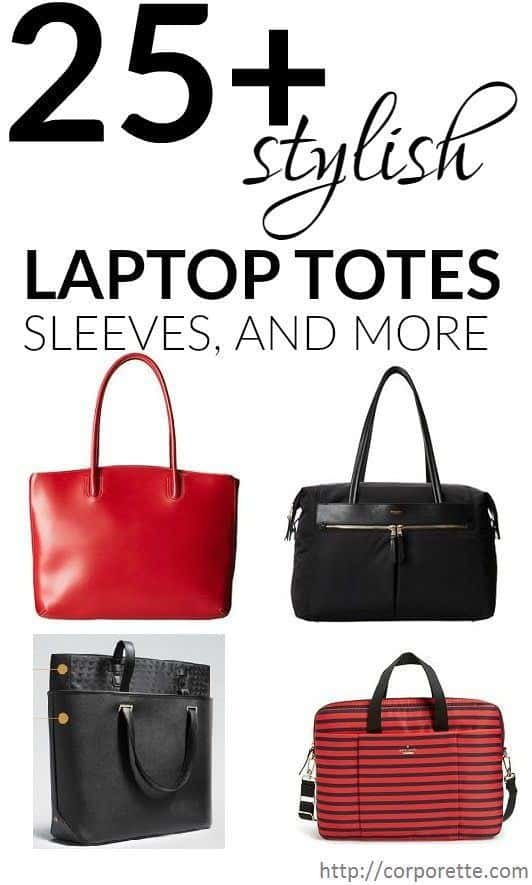 Hunting for a stylish laptop tote or laptop sleeve? Whether you're getting ready for school or just looking to commute to work in style, these padded bags and sleeves can be lifesavers! We rounded up our favorite laptop totes and laptop sleeves.
