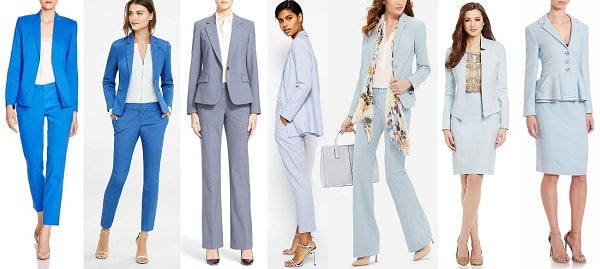 Yea Or Nay Light Blue Suits For Workwear Corporette Com