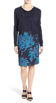 880007be8476 Splurge Tuesday s Workwear Report   Veala  Print Pencil Skirt ...