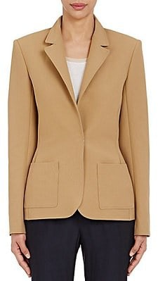 camel beige sportscoat for women workwear