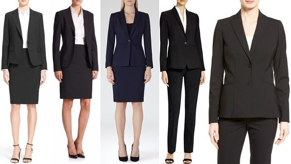 classy suiting for women