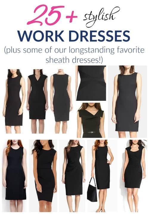Looking for stylish work dresses like sheath dresses? Check out some of our all-time favorites for wearing to the office and beyond!