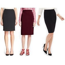 stylish pencil skirts for work