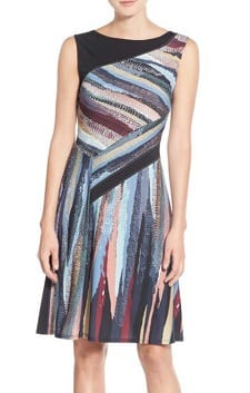 72569b9ae5af2 Washable Jersey Dress: BCBG Max Azria 'Kelsee' Print Jersey A-Line Dress
