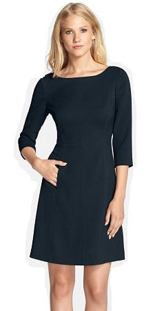 dress with sleeves and pockets vince camuto