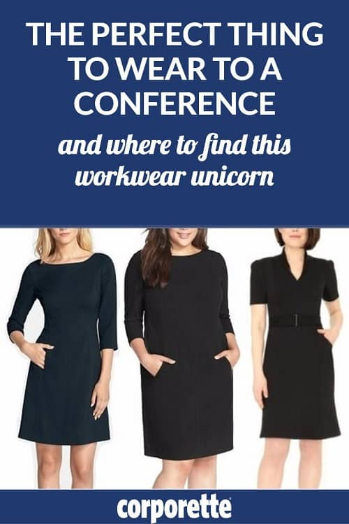 what to wear to a conference
