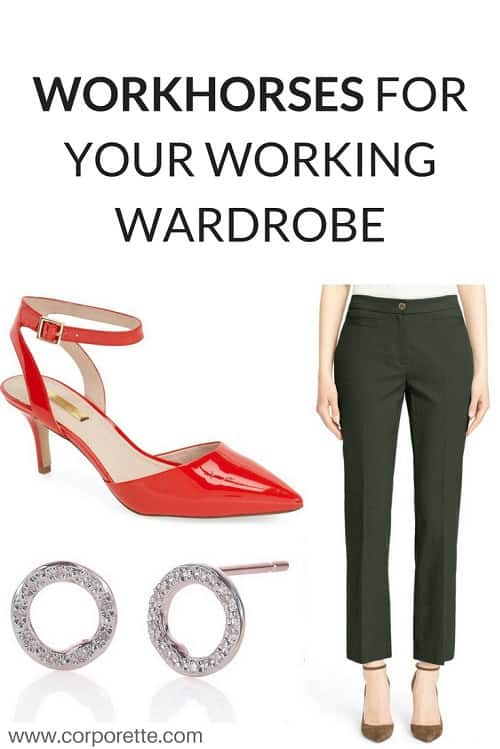Workhorses for Your Work Wardrobe Pin