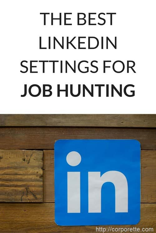 how to job hunt on linked in