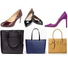independent shoes and bags for work