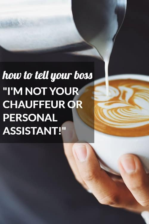 Really interesting reader question and reader response from one young lawyer who wrote in about her boss treating her like a personal assistant. Is it discrimination, a toxic work environment -- or an opportunity? Lots of differing opinions about how to deal when your boss treats you like her servant.