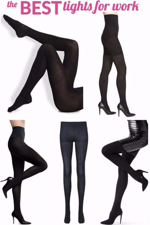 Every working girl loves a good pair of tights to stay warm and stylish in the fall, winter, and spring -- but which are the BEST tights for work? We rounded up our favorites -- whether you're looking for opaque black tights, affordable tights, or super warm tights, or more, we've got them all.