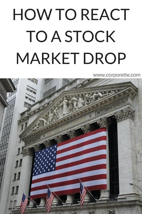 How To React To A Stock Market Drop