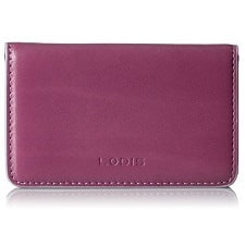 business card case for women leather