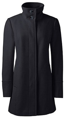 Winter Coat to Wear to Work: Lands' End