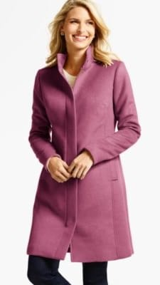 Winter Coat to Wear to Work: Talbots
