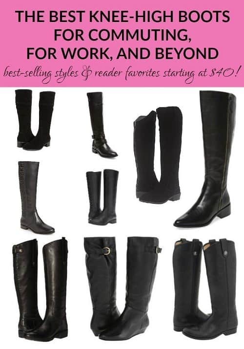 Best knee-high boots for commuting (2017 edition!)