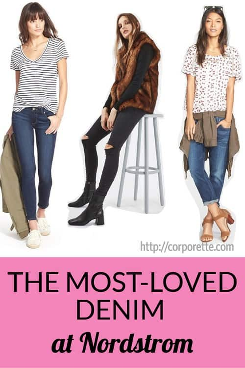 the best-selling, top-rated styles of jeans at Nordstrom!