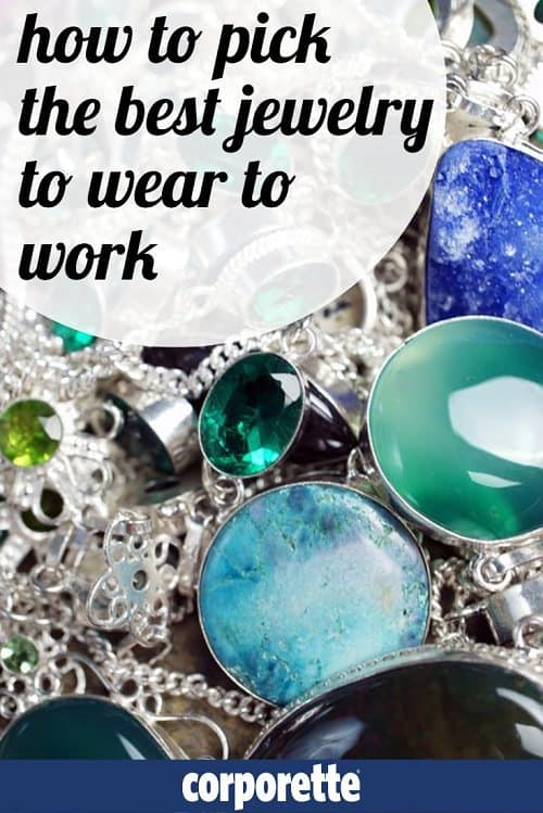 how to pick the best jewelry to wear to work: fashion or fine jewelry