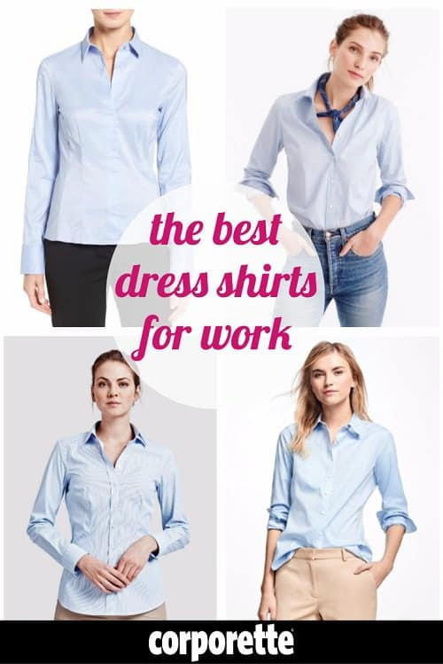 The Best Women's Dress Shirts for Work | Corporette