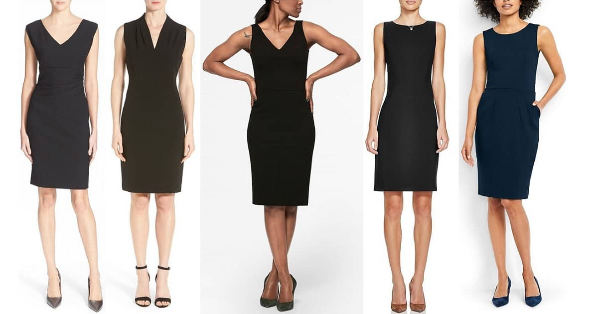 best sheath dresses for work