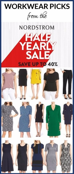 workwear picks from the Nordsrom half-yearly sale