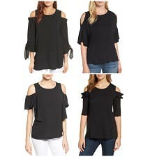 Can you wear cold shoulder tops to the office? Workwear fashion blog Corporette weighs in.