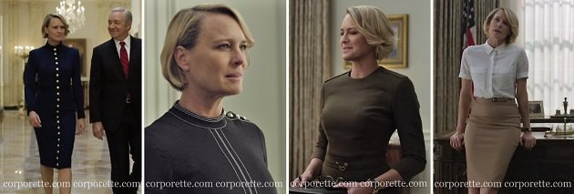 How To Get Claire Underwood Style Workwear Inspo From House Of Cards