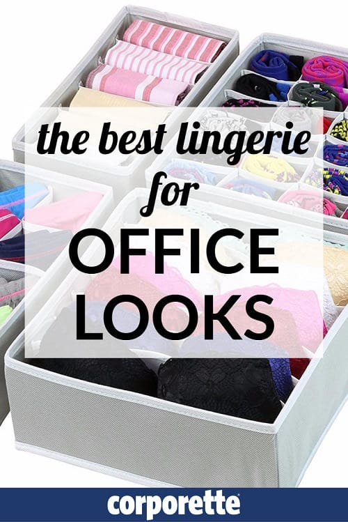 What is the best lingerie for office looks? We talk with Corporette® readers about what's in their lingerie drawers -- which are their favorite bras, panties, and shapewear, to wear to work and beyond!