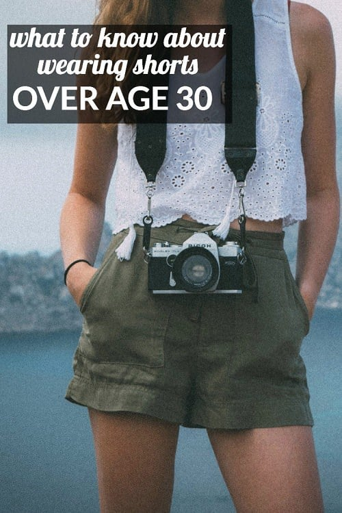 Is there any trick to wearing shorts over age 30? Very interesting discussion with the Corporette® readers -- some thought this wasn't an issue, while others agreed it was something they'd thought about and that it required a certain amount of finesse. What are your thoughts?