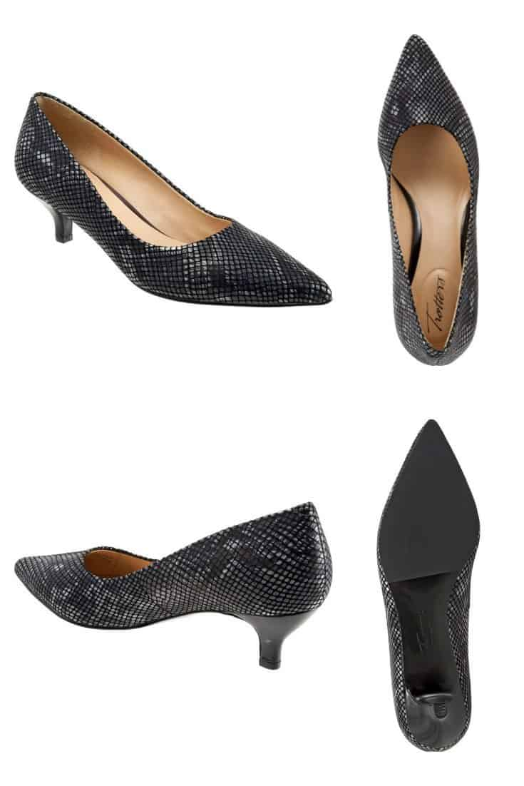 Looking for a COMFORTABLE low heel for work? This $99 one gets all rave reviews.