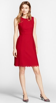 red dress for the office