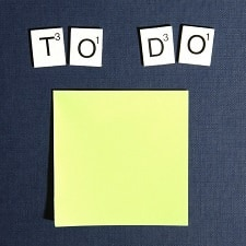 how to keep track of work to-dos