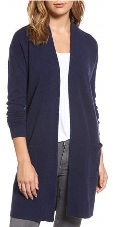 best women's lightweight jackets for the office: the duster cardigan