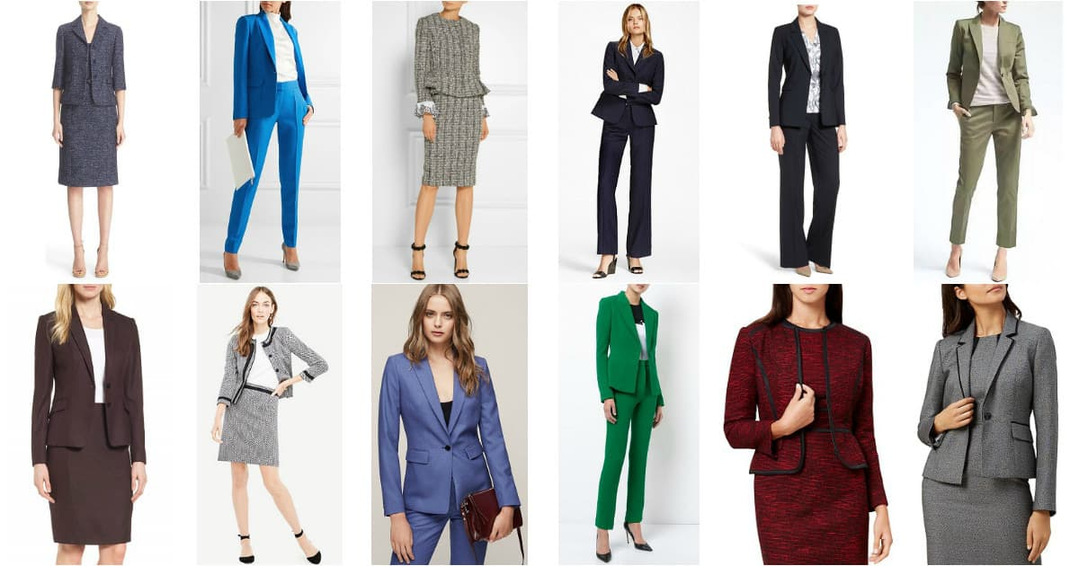 best suits for women 2017