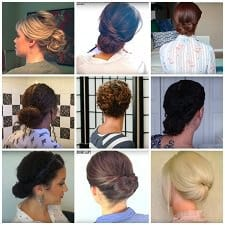 great youtube tutorials for updos for work and beyond!