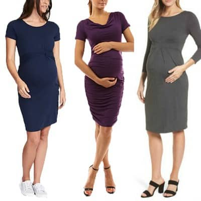 c8eab70b3dc86 What to Wear to Work While Pregnant - Corporette.com