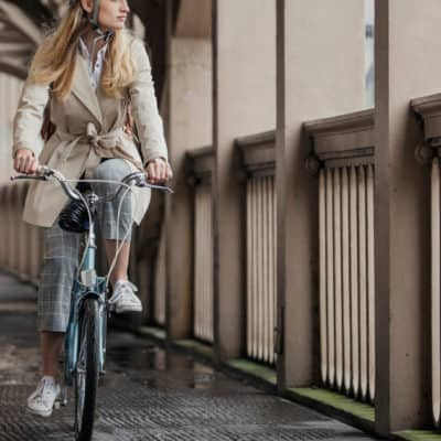 How to Commute to Work on a Bike and Still Look Polished