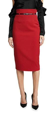 high-waisted pencil skirts for work: classic sophisticated style from Black Halo