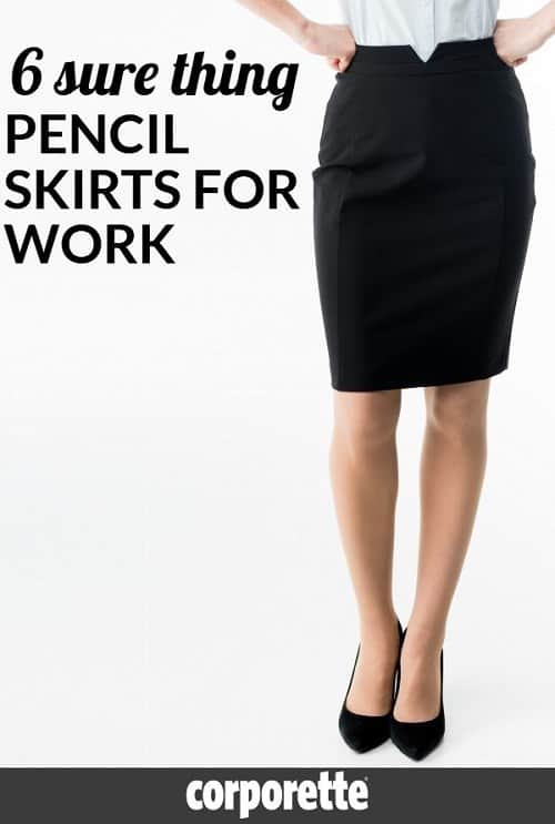 Looking for AWESOME pencil skirts for work and don't feel like ordering a ton to try on? These are 6 sure things -- they've been around for years, are beloved by readers, are affordable, and even in some cases machine washable.