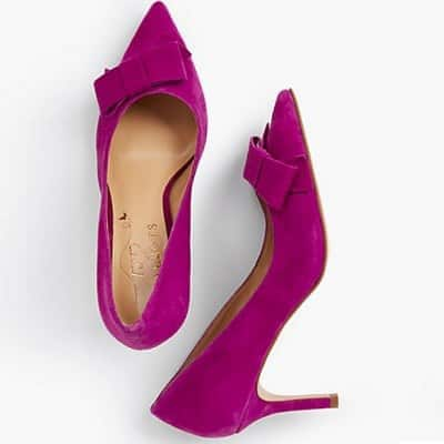 Purple Heels for the Office - Talbots
