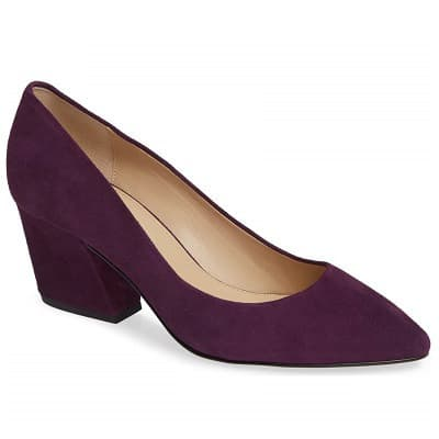 Purple heels for the office - Botkier